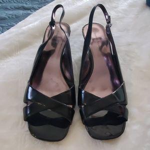 Women's open dress shoe size 10 new Etienne Aigner